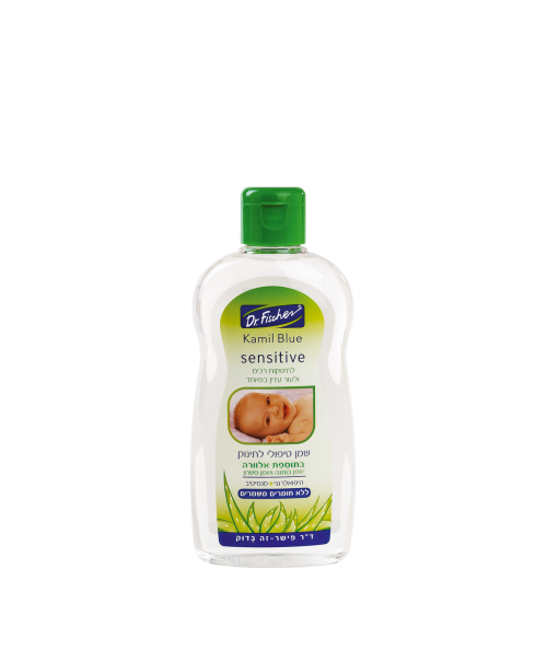 """""""Камиль Блю"""" лечебное детское масло для чувствительной кожи с добавлением алоэ, 200мл"""