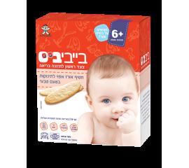 Бейби Бис- Детское Рисовое Печенье С Натуральным Вкусом, От 6 Месяцев, 50 Гр