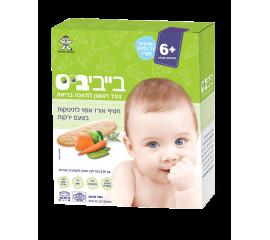 Бейби Бис- Детское Рисовое Печенье С Овощным Вкусом, От 6 Месяцев, 50 Гр